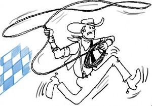 a bayrischer Cowboy