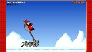 Der Nikolaus auf der Abschußrampe
