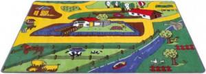 Kinderteppich Bauernhof