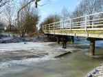Brücke beim Bauerngarten Rhoden