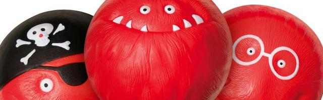 rote Faschingsnasen