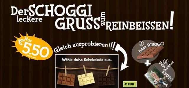 suesse Schokoladengruesse
