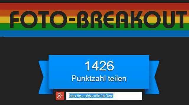 Spielestand Breakout