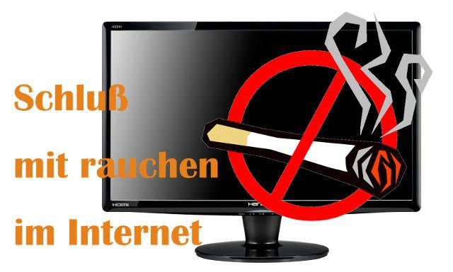 Rauchverbot im Internet