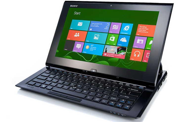Laptop oder Tablet