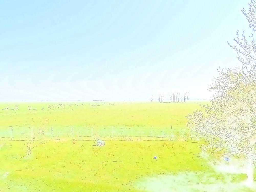 Wetterbild-Aquarell