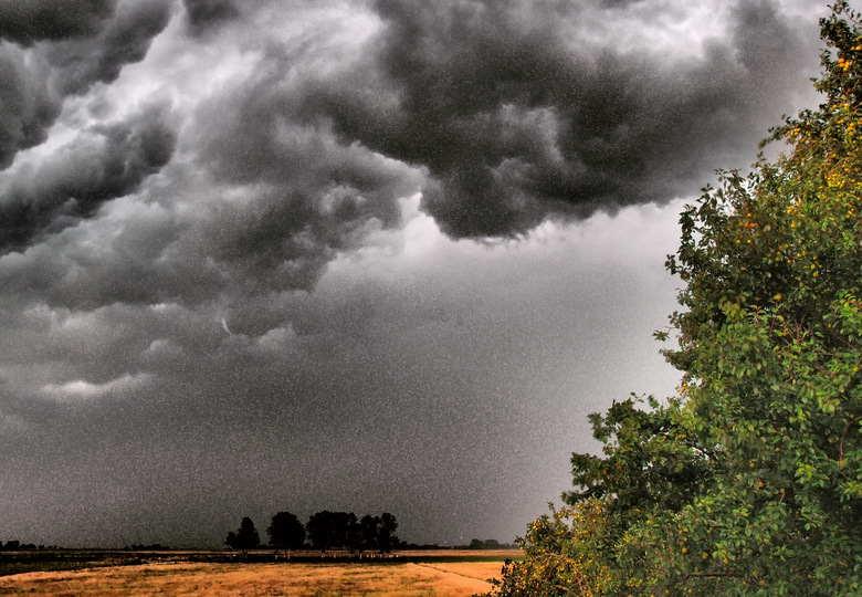 Unwetter im Anmarsch