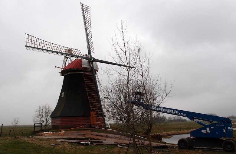 Wasserschöpfmühle Wynhamster Kolk