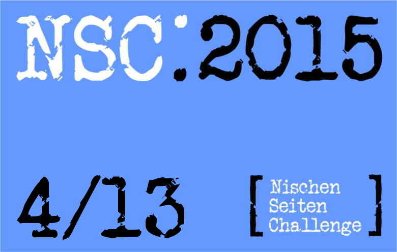 NSC 4/13 – Frosch überarbeitet, Rankings, kleinere Layoutanpassung