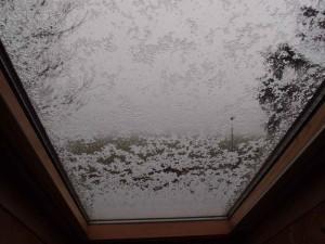 Schneefall in Ostfriesland