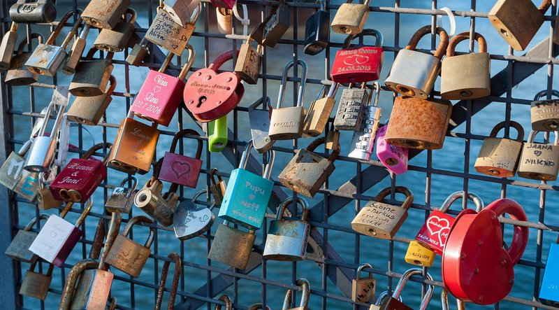 Schloss - sichere Passwörter