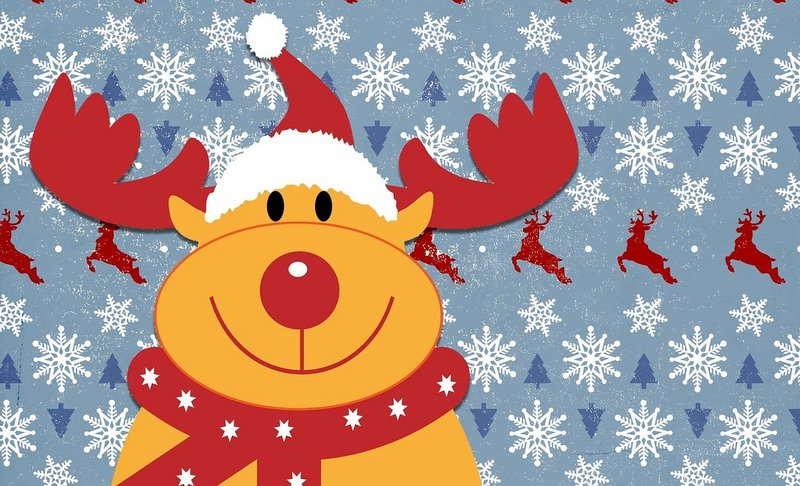 Die Weihnachtstage mit Familie und Freunden feiern