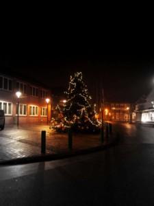 Weihnachtsbaum in Bunde