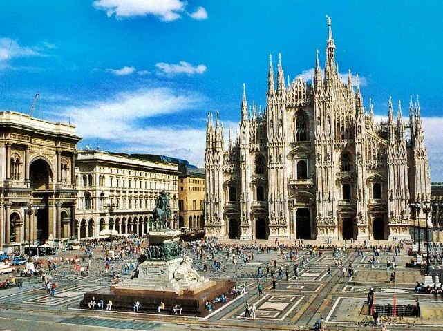 Mailand Brunnen