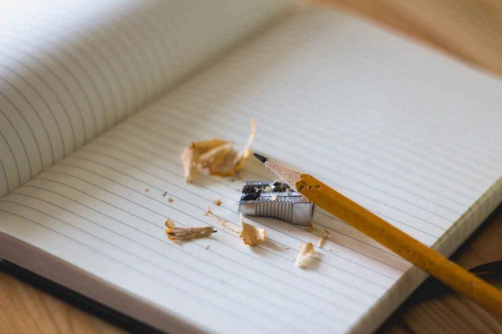 Bleistift und Papier