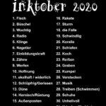 Inktober - deutsche Liste